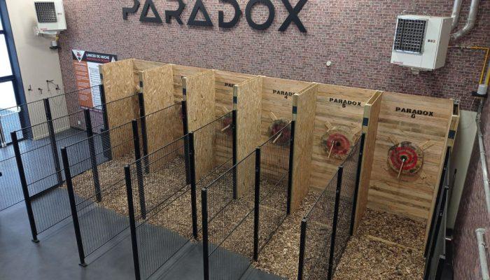Lancer de hache Paradox
