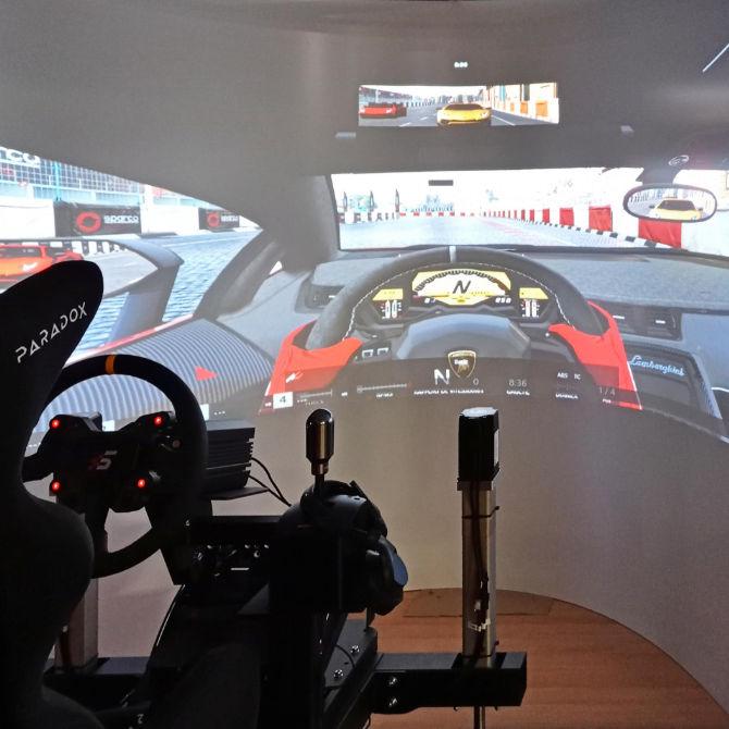 Simulateurs racing Paradox