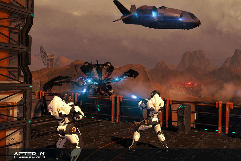 EVA Esport VR Free Roaming Afterh Legend of Mars